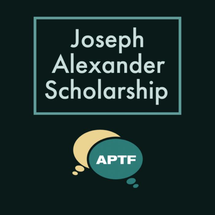 Joseph Alexander Scholarship